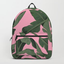 Tropical '17 - Forest [Banana Leaves] Backpack