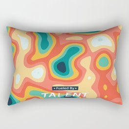 Fueled by Talent Rectangular Pillow
