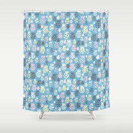 It's raining pineapples Shower Curtain