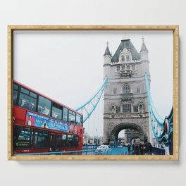 Tower Bridge Serving Tray