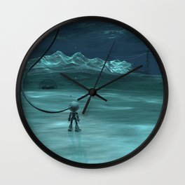 Going Deep Wall Clock