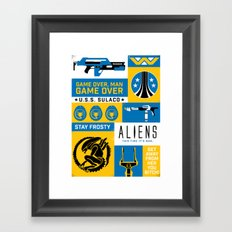 Game Over, Man Framed Art Print