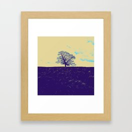Lone Tree Framed Art Print