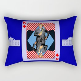 F.U. The Man Who Would Be King- Version 2 Rectangular Pillow