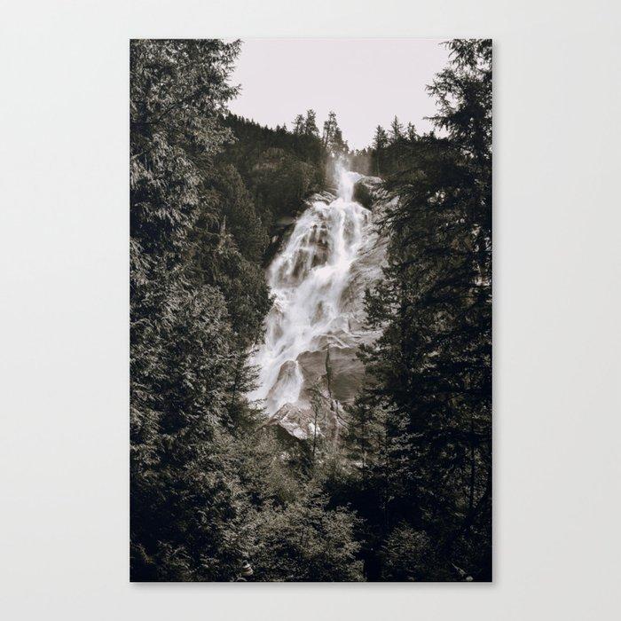 Waterfall III / Canada Leinwanddruck
