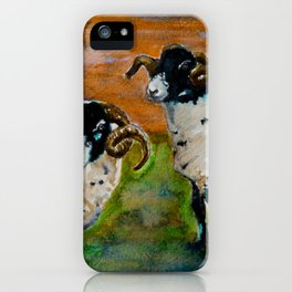 The Rams of Lastingham iPhone Case