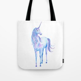 Watercolor Unicorn 3 Tote Bag