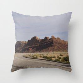 Crow's Home Throw Pillow