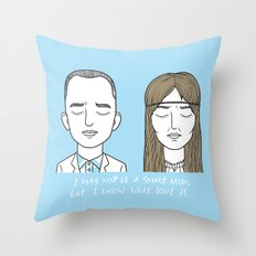 F & J Throw Pillow