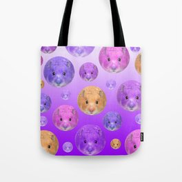 Hamster illustration original painting print Tote Bag