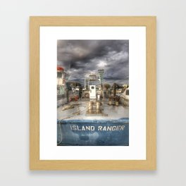 Island Ranger Framed Art Print