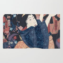 Ukiyo-e Japanese Print Rug