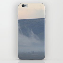 mist in yakima valley iPhone Skin
