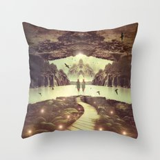 Nightly Retreat  Throw Pillow