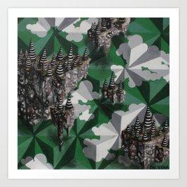 Coney Islands Art Print
