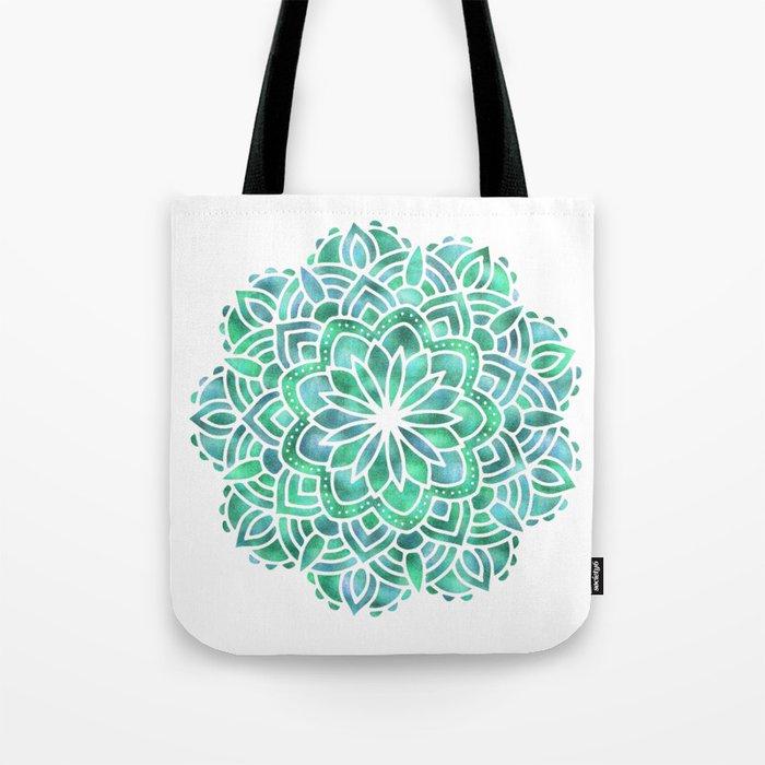 Mandala Southwest Succulent Tote Bag