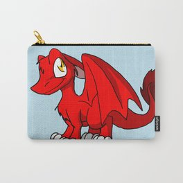 Red SD Furry Dragon Carry-All Pouch