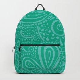 Blue Lagoon Pina Swirls Backpack