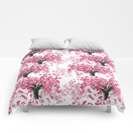 Cherry Tree Pattern Comforters