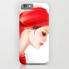 lady in  red iPhone 6s Slim Case