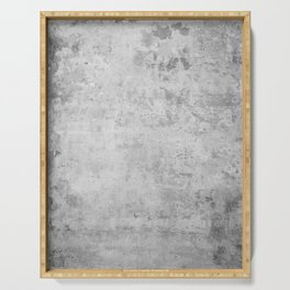 concrete wall vintage grey background,  wall texture * Serving Tray