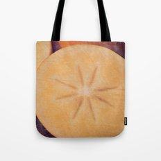 Persimmon Star Tote Bag