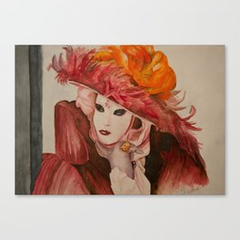 Venitian Canvas Print