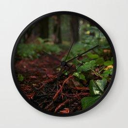 Redwood Livin' Wall Clock