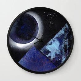 Cold Nights on Aquila Wall Clock