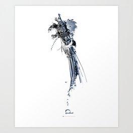 w/s | d Art Print