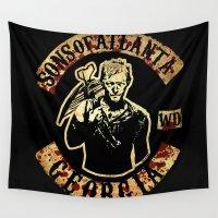 atlanta Wall Tapestries featuring Sons of Atlanta by Ant Atomic