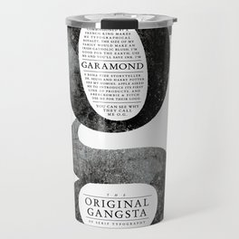 O.G. Garamond Travel Mug