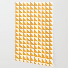 Geometric Pattern 01 Yellow Wallpaper