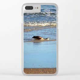 Common Loon Along Shore Clear iPhone Case