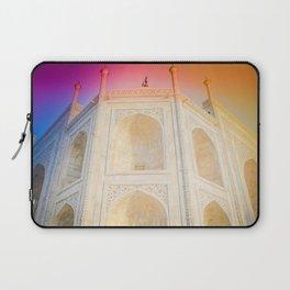 Morning Light at Taj Mahal Laptop Sleeve