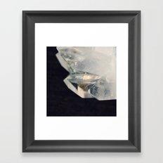 Crystal and Clear Framed Art Print