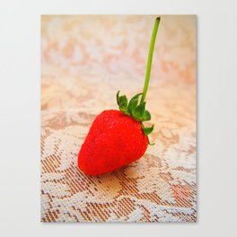 sweety strawberry! Canvas Print