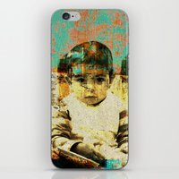 boy iPhone & iPod Skins featuring Boy by Lia Bernini