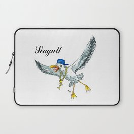 Funny seagull Laptop Sleeve