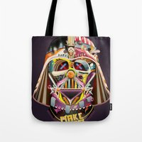 dad Tote Bags featuring DAD by Mathis Rekowski