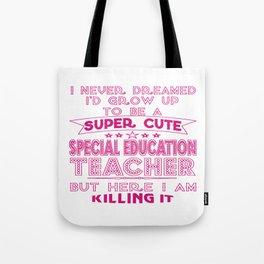 Super Cute Special Education Teacher Tote Bag