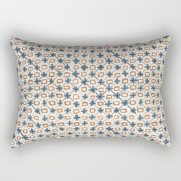 Holly Cross Rectangular Pillow
