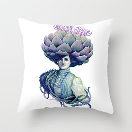 Dame Artie Throw Pillow