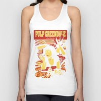 pulp Tank Tops featuring Pulp Greendale by Shana-Lee