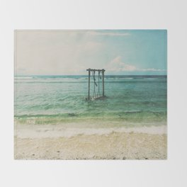Gili Trawangan Throw Blanket