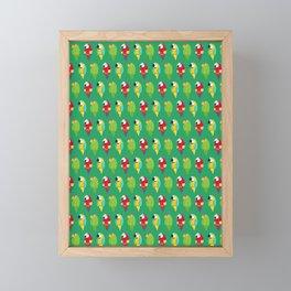 Parrots & Macaws Framed Mini Art Print