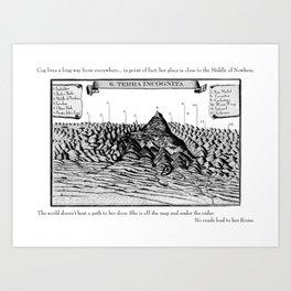 Terra Incognita Art Print