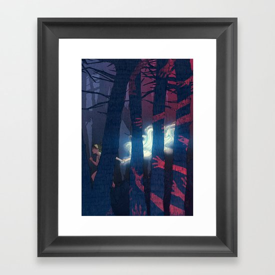 Anabelle, the human Framed Art Print