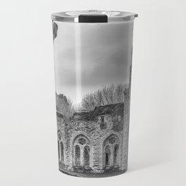 Netley Abbey. Travel Mug