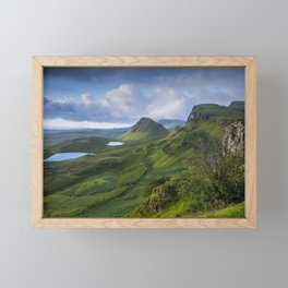 Up in the Clouds II Framed Mini Art Print